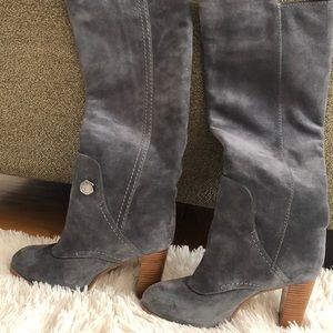 Tall Grey Marc Jacobs Boots